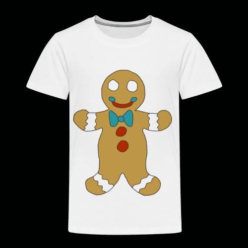 Gingerbread Man - Toddler Premium T-Shirt