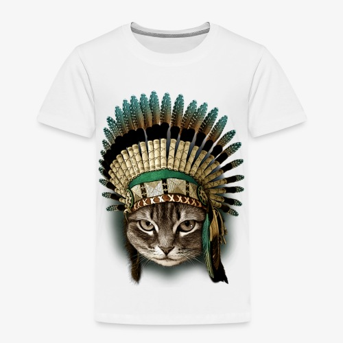 the chief cat - Toddler Premium T-Shirt