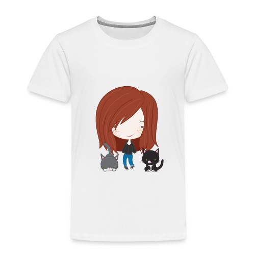 gracie and cats - Toddler Premium T-Shirt