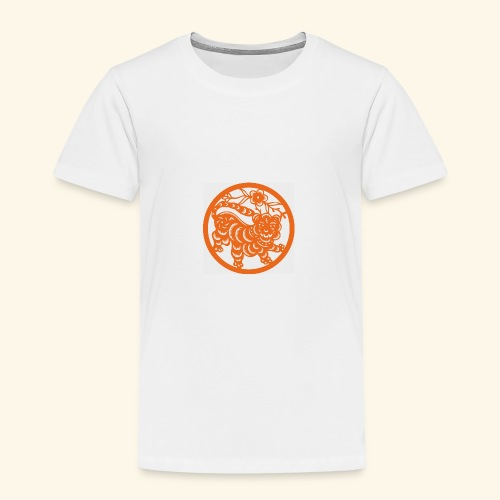 asian tiger - Toddler Premium T-Shirt