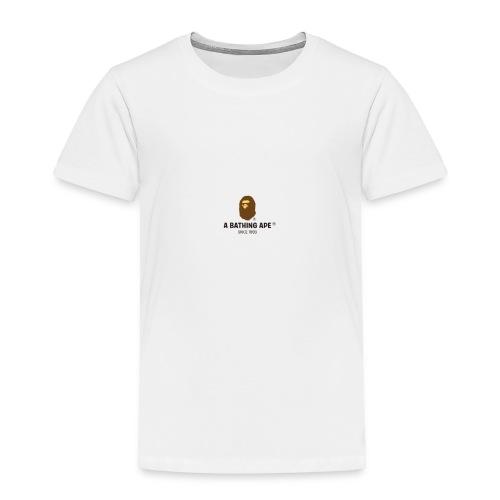 BAPE large - Toddler Premium T-Shirt
