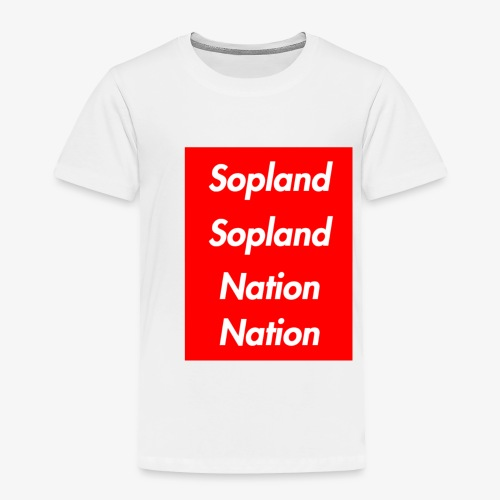 SOPLANDSOPLANDNATIONNATION - Toddler Premium T-Shirt