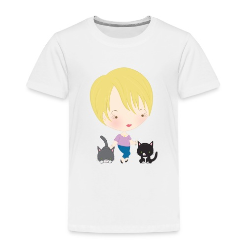 Mommy Spats and Merri - Toddler Premium T-Shirt