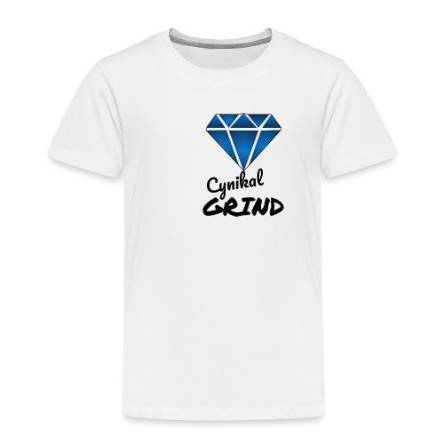 Cynikal Grind logo - Toddler Premium T-Shirt