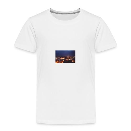300px-Downtown_Binghamton_at_Night - Toddler Premium T-Shirt
