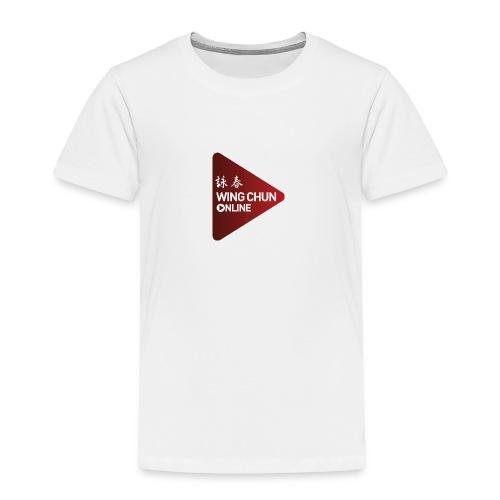 Wing Chun Online Logo - Toddler Premium T-Shirt