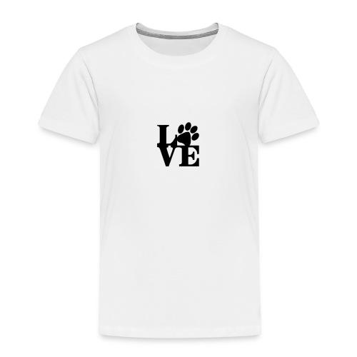 Puppy Love - Toddler Premium T-Shirt