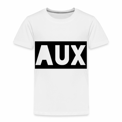 Classic black and white Aux merch - Toddler Premium T-Shirt