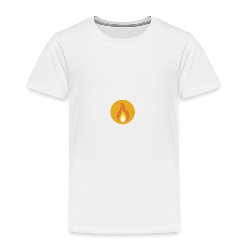 Flame (For cases and Cups) - Toddler Premium T-Shirt