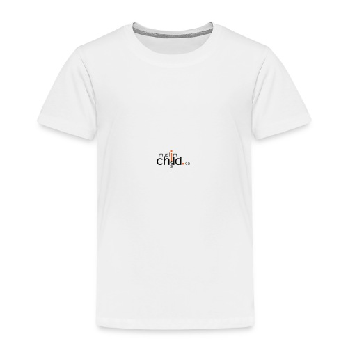 muslimchildlogo - Toddler Premium T-Shirt