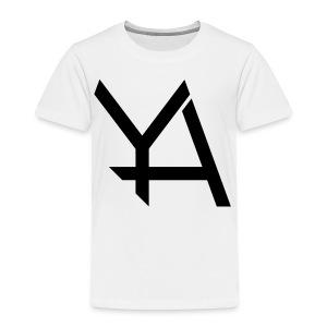 Young Adamant Black Logo - Toddler Premium T-Shirt