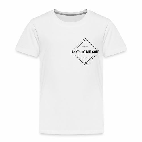 Anything But Golf Logo - Toddler Premium T-Shirt
