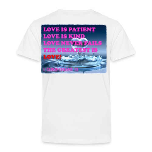 LOVE IS THE GREATEST - Toddler Premium T-Shirt