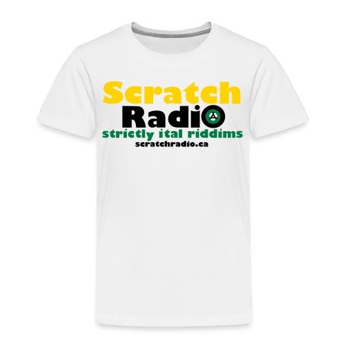 logo with url 3c - Toddler Premium T-Shirt