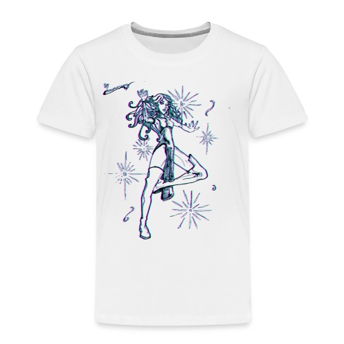 Sparkle MAGIC - color effect - Toddler Premium T-Shirt