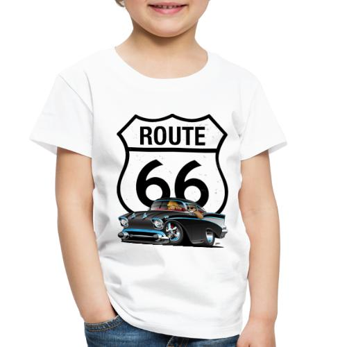 Route 66 Classic Car Nostalgia - Toddler Premium T-Shirt
