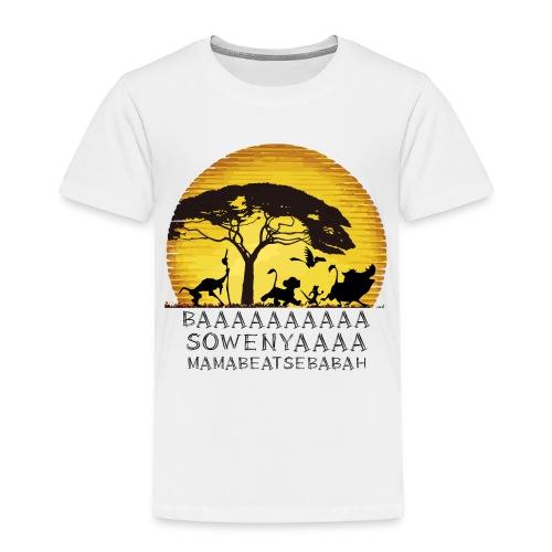 Lion King BAA - Toddler Premium T-Shirt