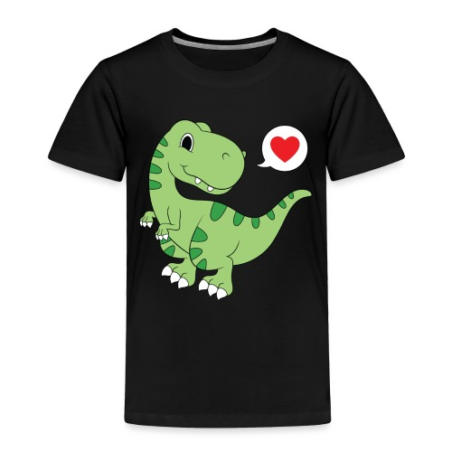 Dinosaur Love - Toddler Premium T-Shirt