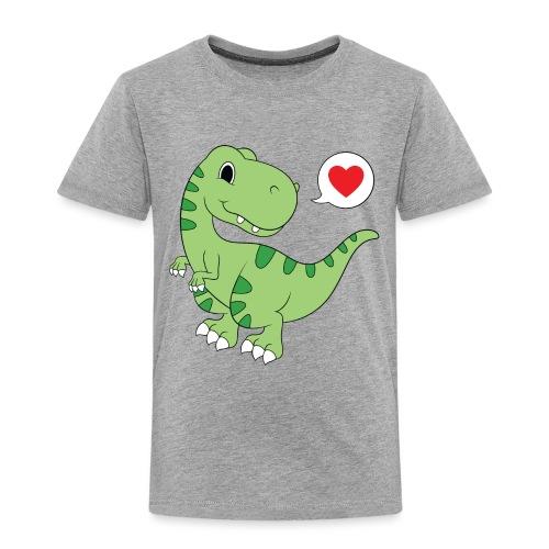 Dinosaur Love - Toddler Premium T-Shirt