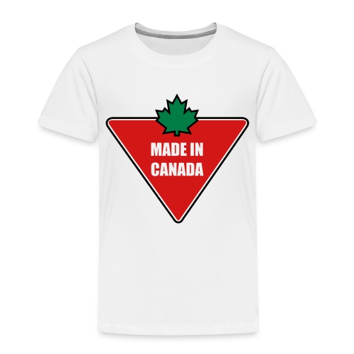 Made in Canada Tire - Toddler Premium T-Shirt