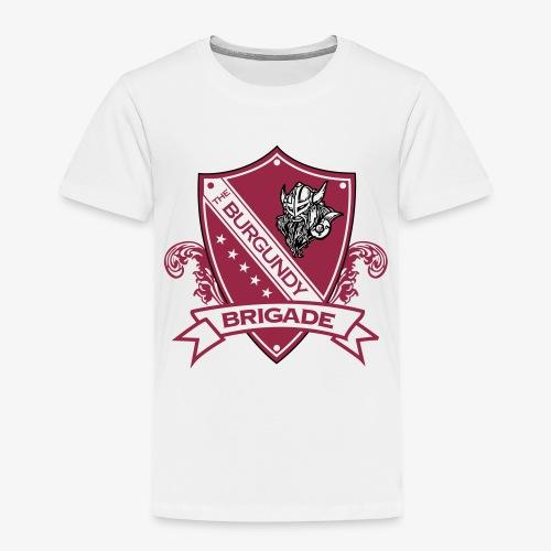 Burgundy Brigade Logo - Toddler Premium T-Shirt