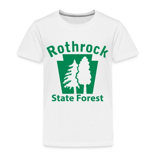 Rothrock State Forest Keystone (w/trees) - Toddler Premium T-Shirt