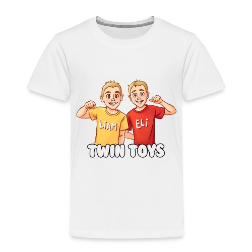 twintoys1500new1 - Toddler Premium T-Shirt
