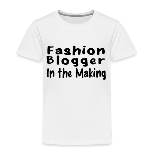 Fashion Blogger in the making png - Toddler Premium T-Shirt