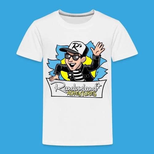 Randomland BURST Shirt - Toddler Premium T-Shirt