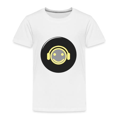 music happy face record - Toddler Premium T-Shirt