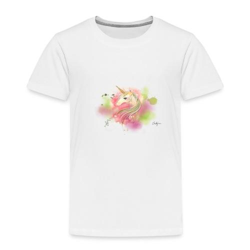 Rainbow Unicorn - Toddler Premium T-Shirt