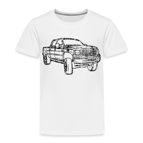 Ford Truck F250 Distressed - Toddler Premium T-Shirt