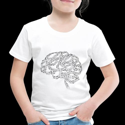 Sound of Mind | Audiophile's Brain - Toddler Premium T-Shirt