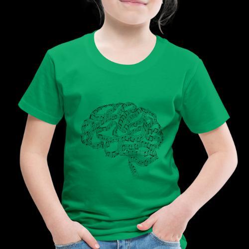 Sound of Mind | Audiophile's Brain - Toddler Premium T-Shirt