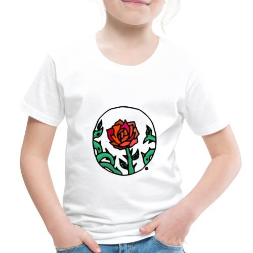 Rose Cameo - Toddler Premium T-Shirt