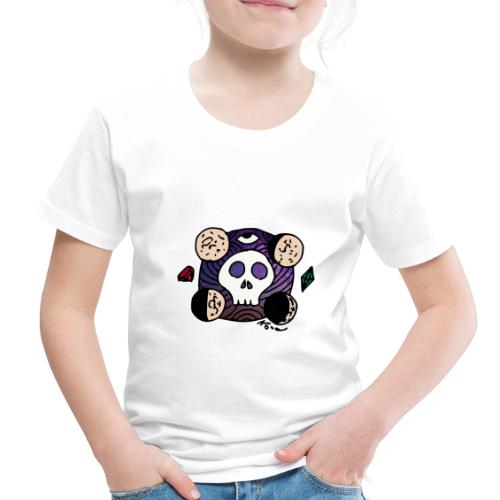 Moon Skull from Outer Space - Toddler Premium T-Shirt