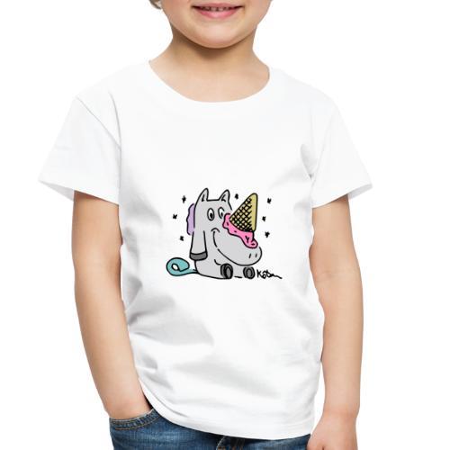 Ice Cream Unicorn - Toddler Premium T-Shirt