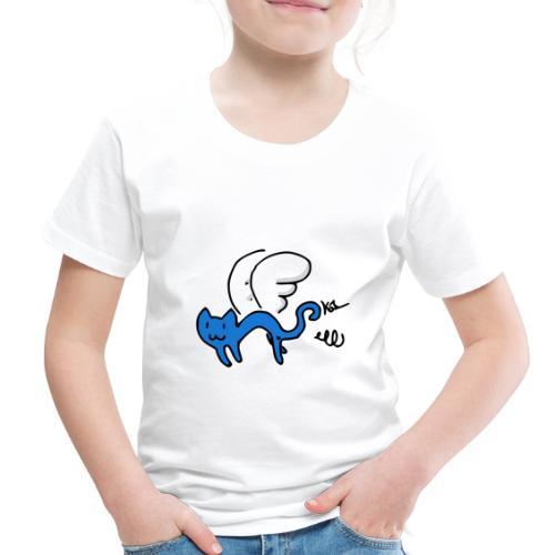 Flying Kitty - Toddler Premium T-Shirt