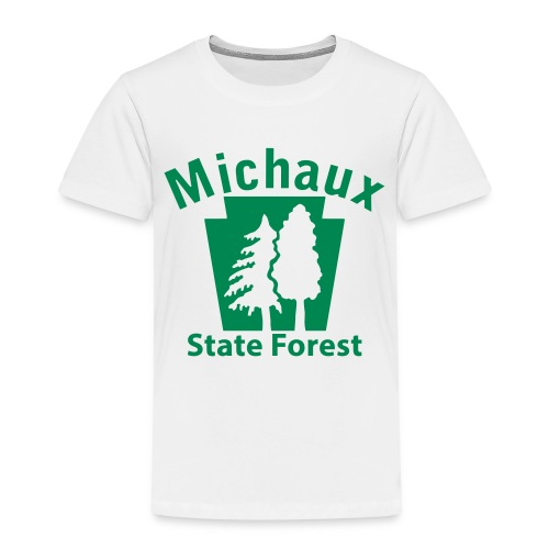 Michaux State Forest Keystone (w/trees) - Toddler Premium T-Shirt