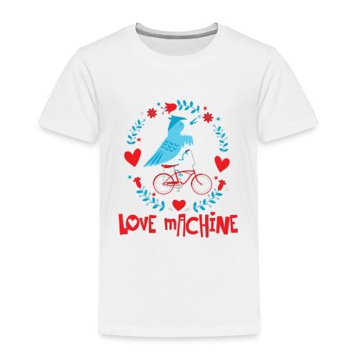 Cute Love Machine Bird - Toddler Premium T-Shirt