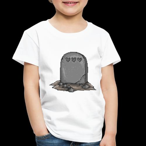 No Life Left | Funny Gamer Grave - Toddler Premium T-Shirt