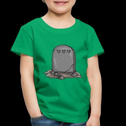 No Life Left | Funny Gamer Grave - Toddler Premium T-Shirt