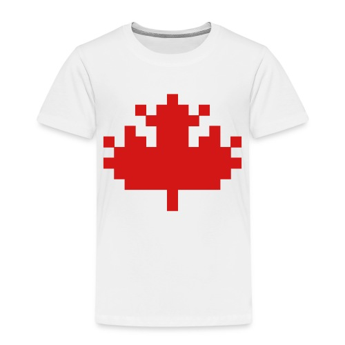 Pixel Maple Leaf - Toddler Premium T-Shirt