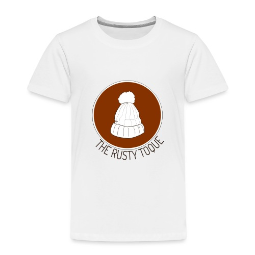 The Rusty Toque Brown Logo 2 - Toddler Premium T-Shirt