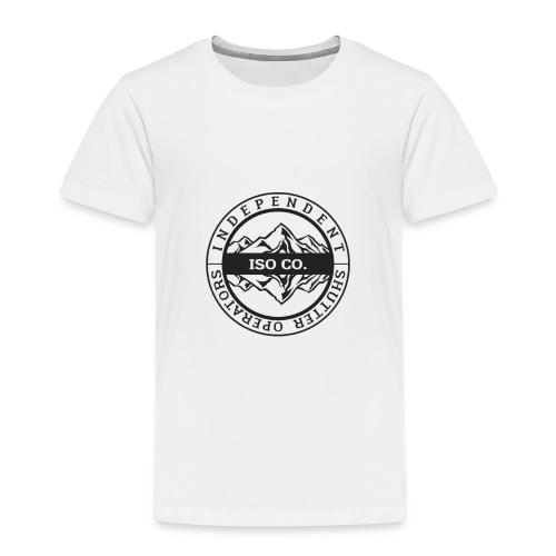 ISO Co. Black Classic Emblem - Toddler Premium T-Shirt