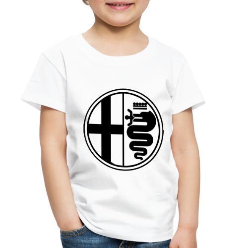 Alfa Romeo Plain Mono - Toddler Premium T-Shirt