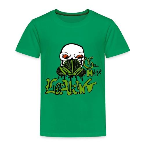 Leaking Gas Mask - Toddler Premium T-Shirt