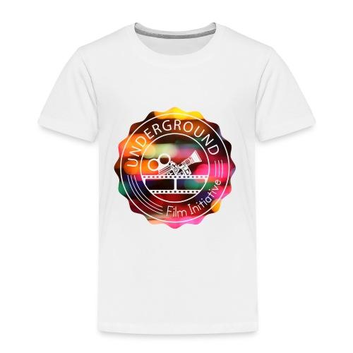 Underground_Film_Initiative_Logo_Colour_Pop_Bokeh - Toddler Premium T-Shirt
