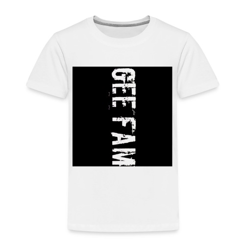Gee fam clothing is the way to go - Toddler Premium T-Shirt