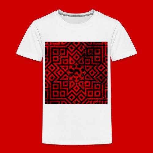 Detailed Chaos Communism Button - Toddler Premium T-Shirt